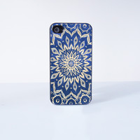 Mandala Plastic Phone Case For iPhone 4/4S More Case Style Can Be Selected