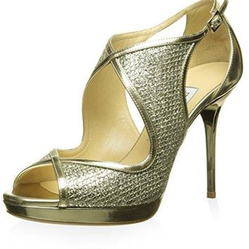 Jimmy Choo Women's Leondra Open-Toe Pump
