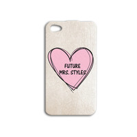 Future Mrs Harry Styles Phone Case 1D iPod Case One Direction iPhone Case Cute iPhone Cover iPhone 5 iPhone 5s iPhone 5s iPhone 4 iPhone 4s