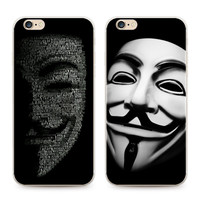 V for Vendetta Innovative Iphone 6/6s  Matte Dirt-resistant Hard Shell Phone Case [9066748419]