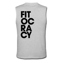 Fitocracy - Syllable - Mens Gray Muscle Tee T-Shirt | Fitocracy Merch Store