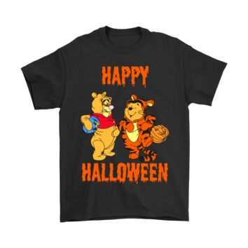 Tigger And Pooh Happy Halloween Shirts