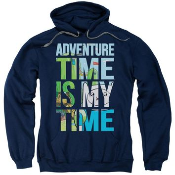 Adventure Time - My Time Adult Pull Over Hoodie