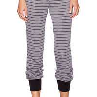 Michael Lauren Chet Track Pant in Gray