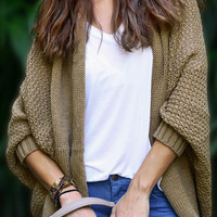 Cupshe Short of Nothing Cozy Sweater Cardigan