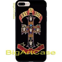 New Hot Guns N Roses Poster Art CASE COVER iPhone 6s/6s+7/7+8/8+,X and Samsung
