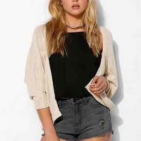Silence + Noise Dolman Cropped Cardigan-