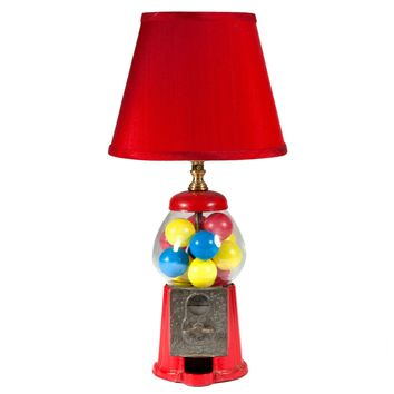 Vintage Gumball Machine Lamp