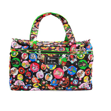 Ju-Ju-Be Super Star Duffel Diaper Bag - Tokidoki Bubble Trouble
