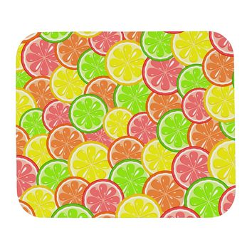 Colorful Citrus Fruits Mousepad All Over Print