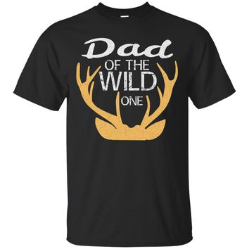 Cute The Wild One Father Shirt Birthday Dad Family Matching