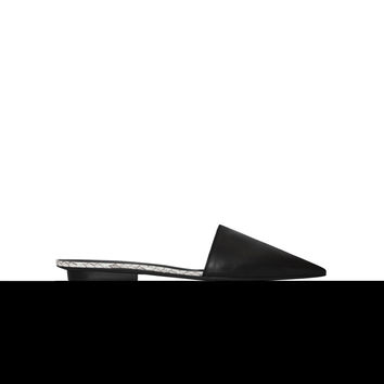 Narciso Rodriguez Athena Slide - Black/natural