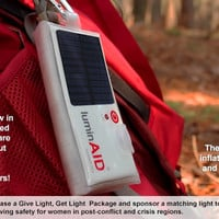 LuminAID Store Home page
