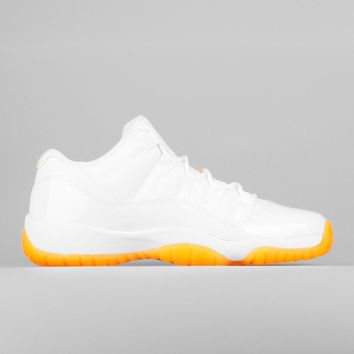 AUGUAU Nike Air Jordan 11 Retro Low BG (GS) Citrus
