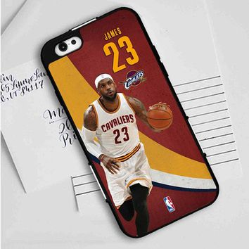 LeBron James Fastbreak iPhone Case