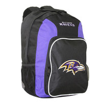 Southpaw Backpack NFL Purple - Baltimore Ravens