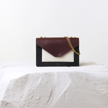 Pocket Flapbag Multicolour in Smooth Calfskin