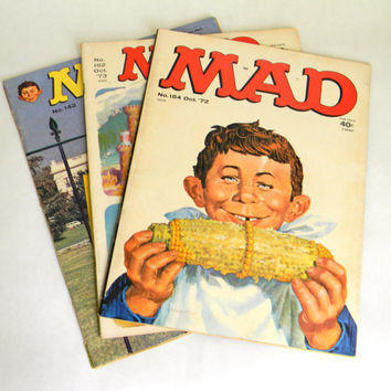 Mad Magazine  Instant Collection 1970s by Mylittlethriftstore
