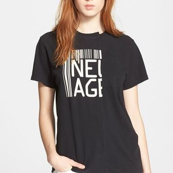 Women's MARC BY MARC JACOBS Patched Cotton Tee,