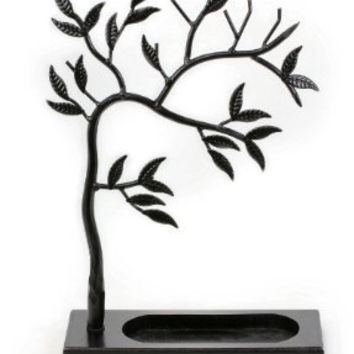 Zoohu Sculpted Jewelry Tree - Metal Necklace Holder / Jewelry Tree / Earring Jewelry Oraganizer / Jewelry Stand / Jewelry Display
