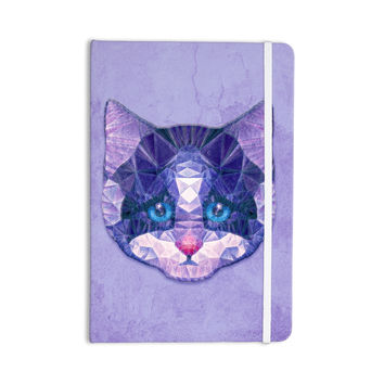 "Ancello ""Cute Kitten"" Purple Cat Everything Notebook"
