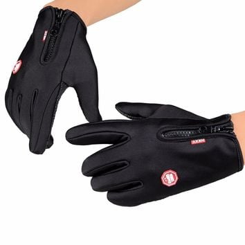 Women Men Cycling Gloves Snowboard Gloves Motorcycle Riding Winter