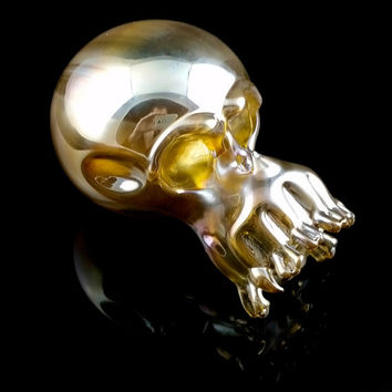 Skull Glass Pipe