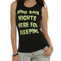 Nights For Sleeping Girls Muscle Top