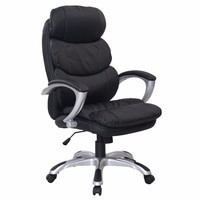 New Leather High Back Desk Office Chair Executive Ergonomic Computer Task