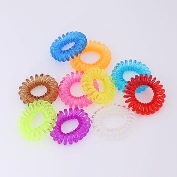 Mini Coil Hair Ties