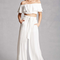 Belted Palazzo Pants