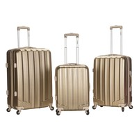 Rockland Luggage, 3-pc. Hardside Spinner Luggage Set