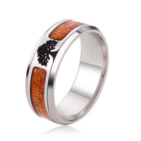 Jewelry Stylish New Arrival Gift Shiny Stainless Steel Accessory Strong Character Ring [10059715587]