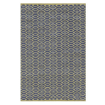Fair Isle Rug- Rosemary/Ink