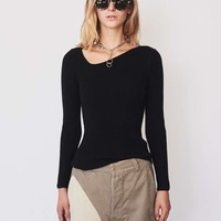 Wool Curve Sweater - Assembly New York