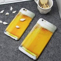 3D Beer iPhone 5s 6 6s Plus Case Cover Gift 234-170928