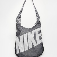 Nike Reversible Across Body Bag in Monochrome Print