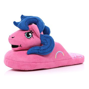 PINK MY LITTLE PONY MULE SLIPPERS