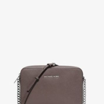 Jet Set Travel Large Saffiano Leather Crossbody | Michael Kors