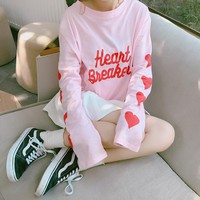 Heart Breaker Long Sleeve Tee