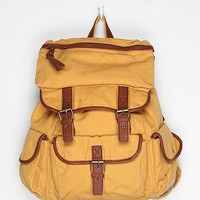 Ecote Solid Canvas Backpack