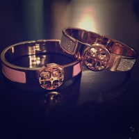 Pair of Tory Burch look a like Bangles