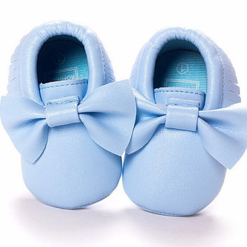 Blue Moccasins, Light Blue Moccasins, Baby Shoes, Vegan Soft Sole 3-18 months Infant Shoes Gift Toddler, Baby Shower Gift, Aqua Moccasins