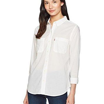 Levis Womens Workwear Boyfriend Shirt