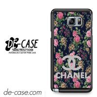 Floral Chanel 1 For Samsung Galaxy Note 5 Case Phone Case Gift Present YO