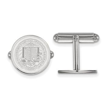 NCAA Sterling Silver University California Berkeley Crest Cuff Links
