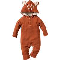 4 Color Knitted Baby Rompers Spring Autumn Long Sleeve Baby Boys Girls Jumpsuit Cartoon Rabbit Infant Clothes Kids Romper