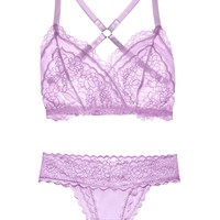Lacey Easy Fit Lingerie Set with Embroidery — More Colors