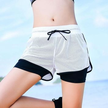 Pants Sports Gym Yoga Summer Jogging Casual Shorts [11626603983]