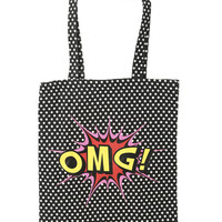 OMG Canvas Tote | Shop Accessories at Wet Seal